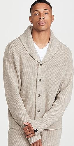 Rag & Bone - Undyed Wool Shawl Cardigan
