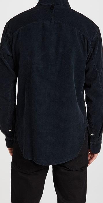 Rag & Bone Engineered Overdye Corduroy Shirt