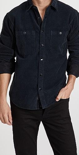 Rag & Bone - Engineered Overdye Corduroy Shirt