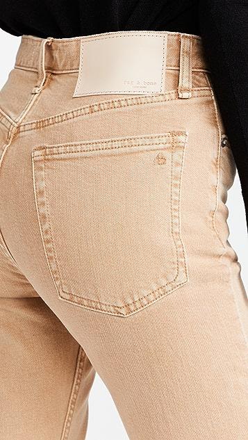 Rag & Bone Maya High Rise Ankle Slim Jeans