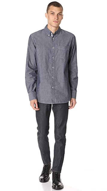 Rag & Bone Standard Issue Fit 2 Raw Selvedge Jeans