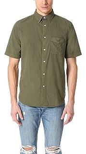 Rag & Bone Standard Issue Standard Issue Short Sleeve Beach Shirt