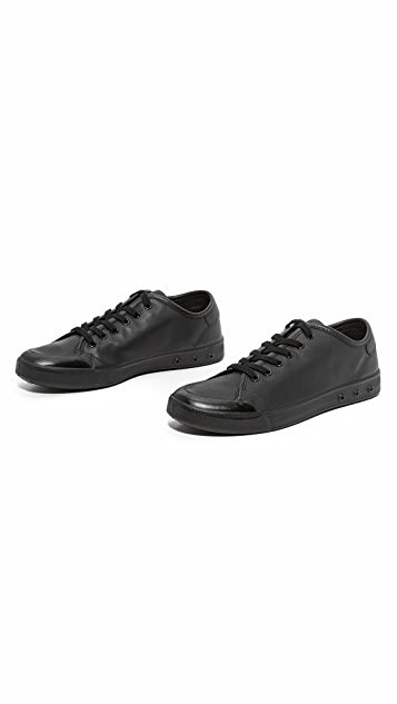 Rag & Bone Standard Issue Standard Issue Leather Lace Up Sneakers