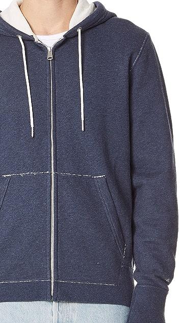 Rag & Bone Standard Issue Standard Issue Zip Hoodie