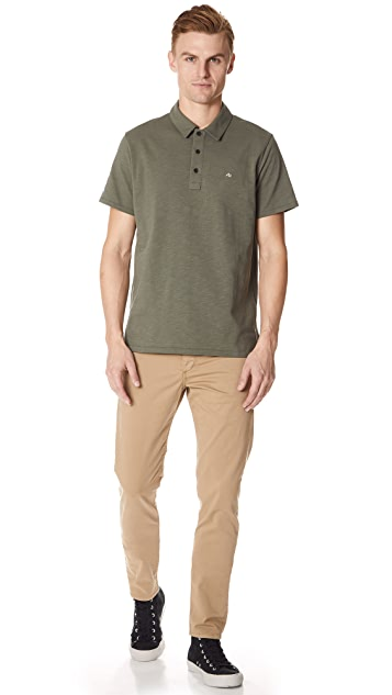 Rag & Bone Standard Issue Standard Issue Solid Polo