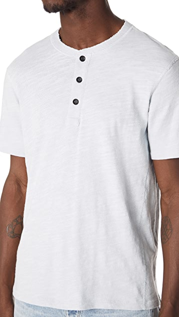 Rag & Bone Standard Issue Short Sleeve Henley