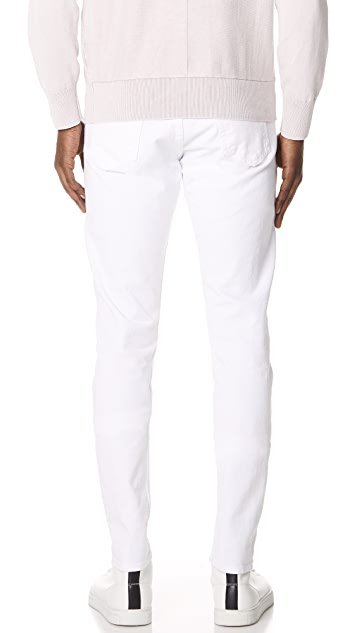 Rag & Bone Standard Issue White Jeans