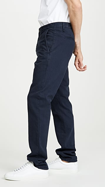 Rag & Bone Standard Issue Fit 2 Linen Chino Pants