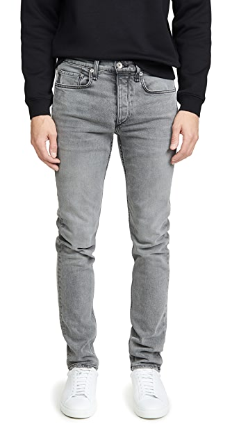 Rag & Bone Standard Issue Fit 2 Jeans in Greyson Wash