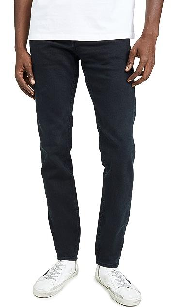 Rag & Bone Standard Issue Fit 2 Jeans in Blackened Navy