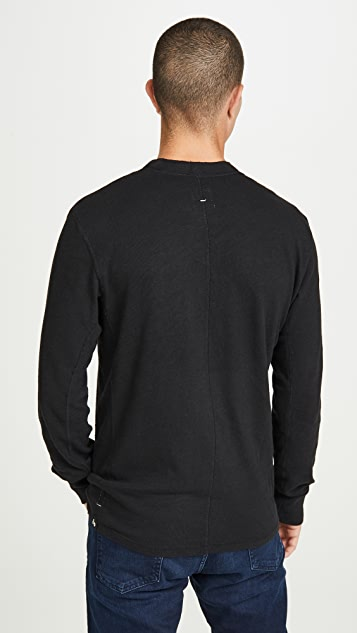 Rag & Bone Standard Issue Long Sleeve Classic Henley
