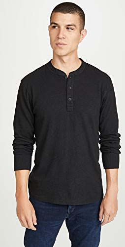 Rag & Bone Standard Issue - Long Sleeve Classic Henley