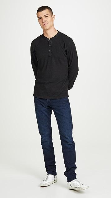 Rag & Bone Standard Issue Long Sleeve Classic Henley