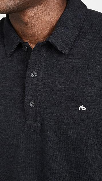 Rag & Bone Standard Issue Short Sleeve Classic Polo Shirt
