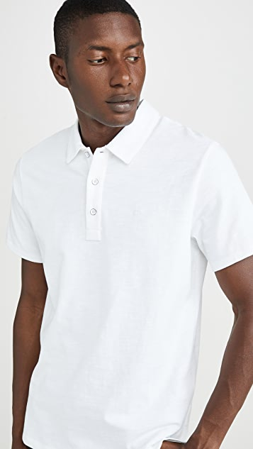 Rag & Bone Standard Issue Short Sleeve Classic Polo Shirt