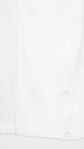 Rag & Bone Standard Issue Classic Short Sleeve Henley