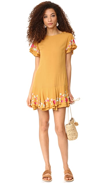 Rahi Poppy Ruffle Dress