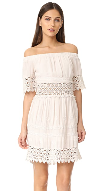 Rahi Daisy Field Off Shoulder Dress