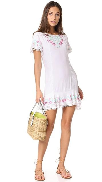 RahiCali Vineyard Ruffle Dress