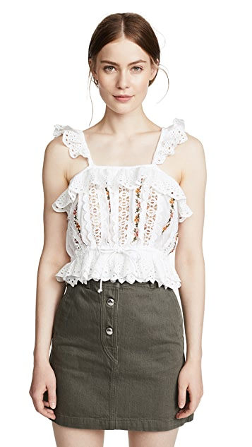 Rahi Dreamcatcher Embroidered Top