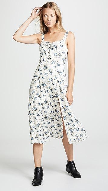 Rahi Bouquet Lace Up Dress