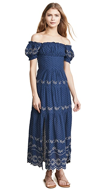 Rahi Cali Cutwork Midi Dress