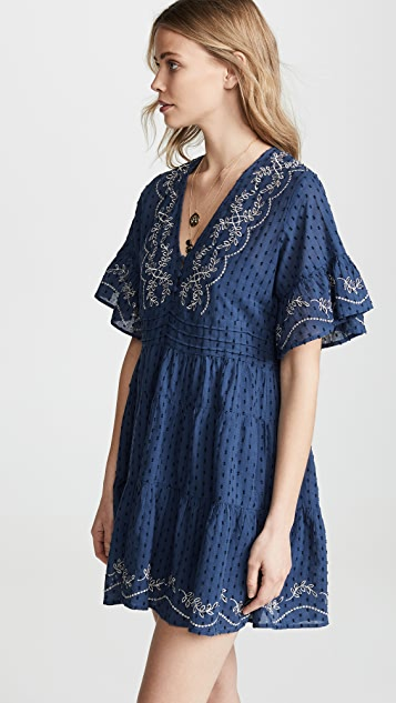 Rahi Cali Cutwork Tunic Dress