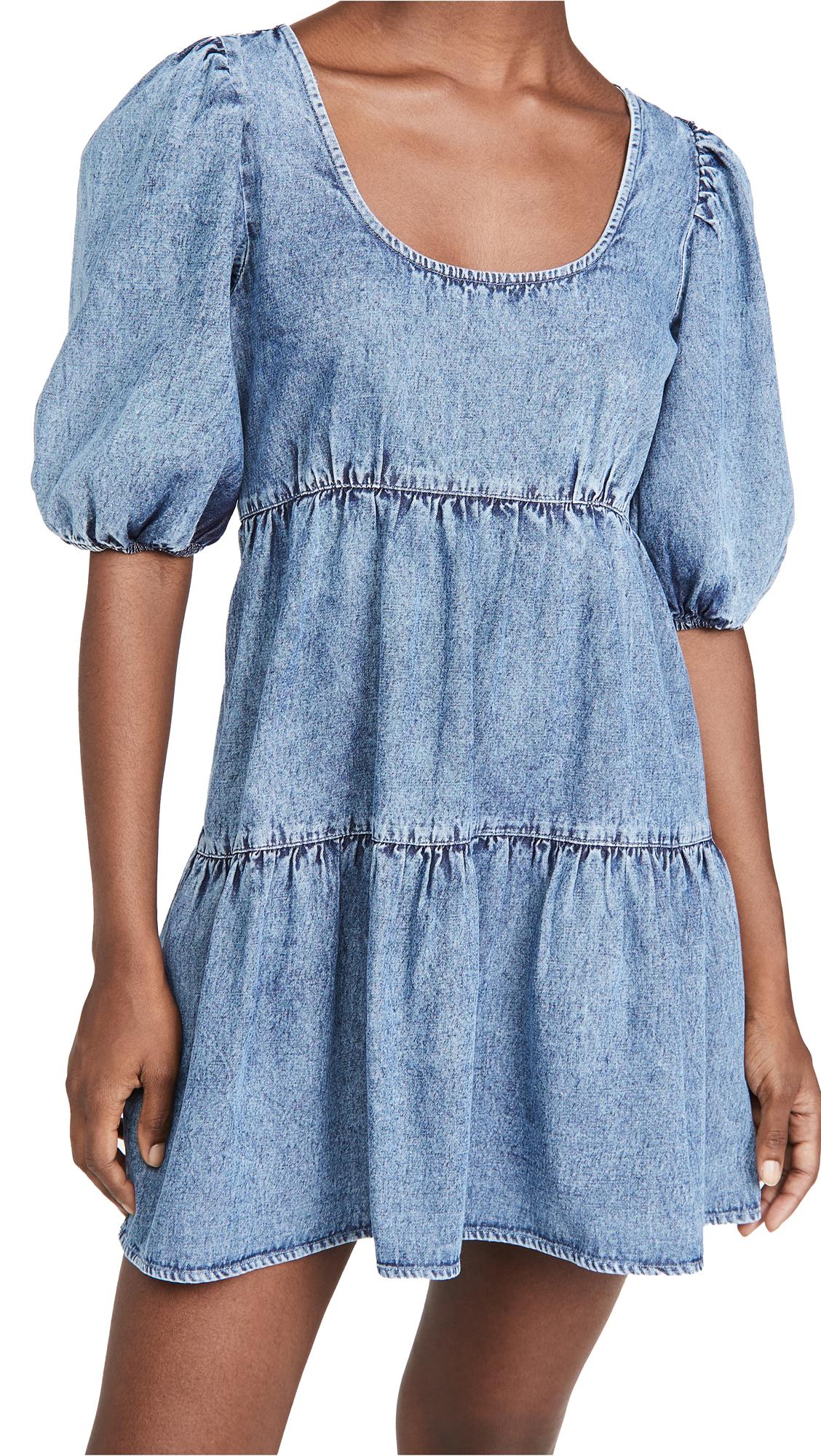 Rahi Denim Babydoll Dress