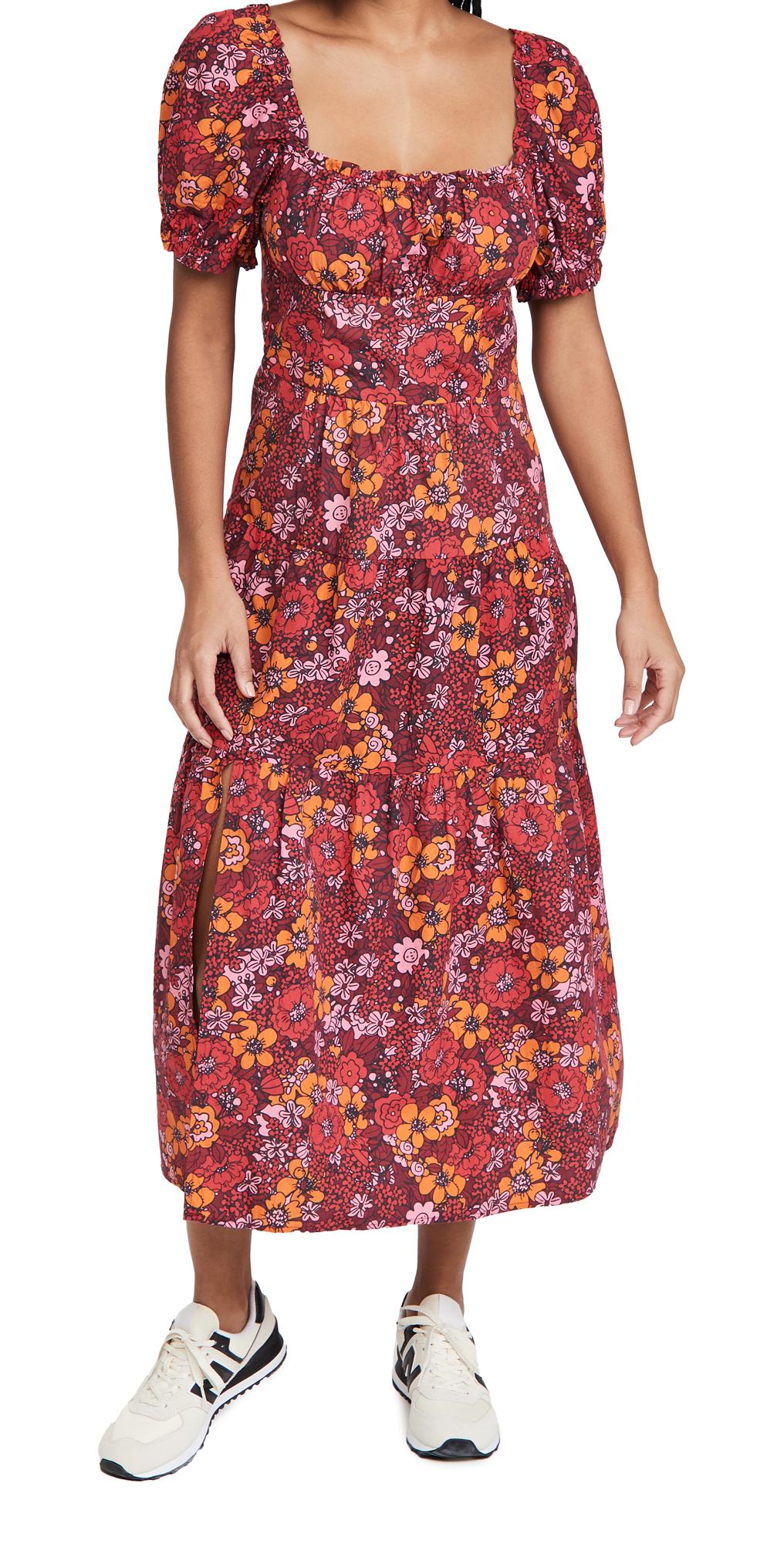Rahi Floral Midi Dress