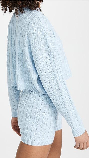 Rahi Donna Sweater and Shorts Set