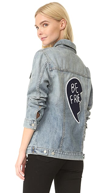 RAILS Knox Best Friend Patch Jacket