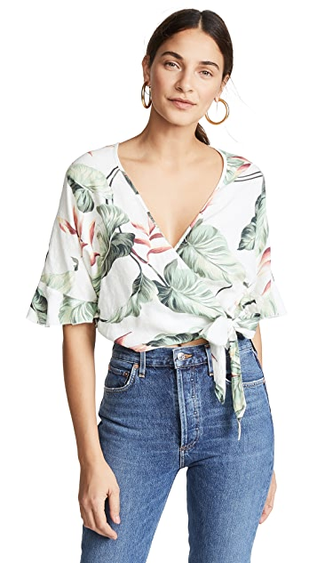 RAILS Athena Wrap Top