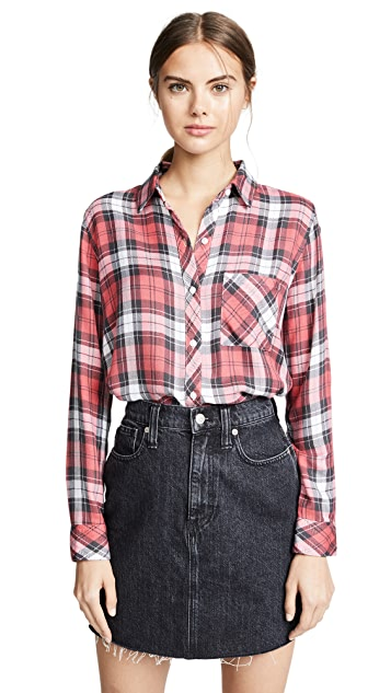 RAILS Рубашка на пуговицах Hunter