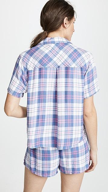 RAILS Short Sleeve Short PJ Set