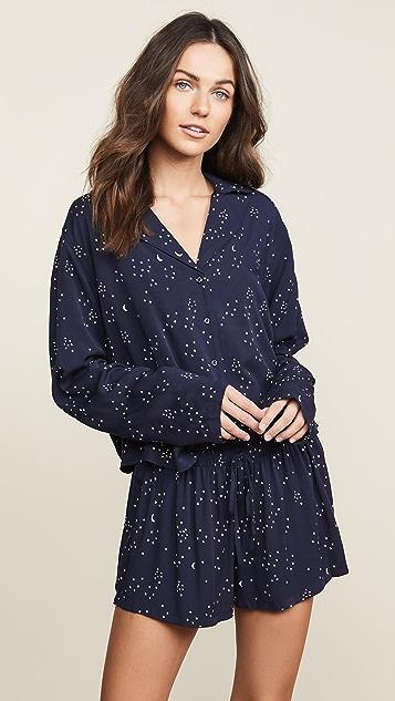 ef6b4542d23 RAILS Long Sleeve Short Pajama Set