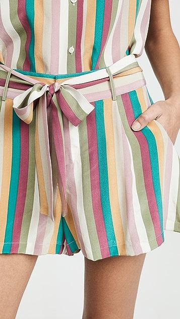 RAILS Gigi Silk Shorts