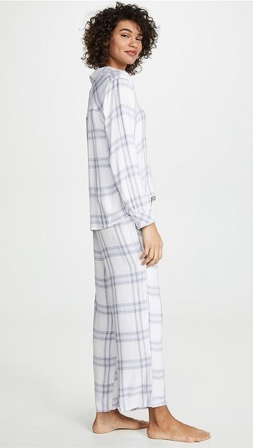 RAILS Пижама с длинными рукавами