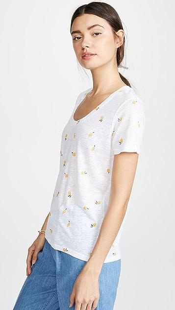RAILS Льняная футболка Luna