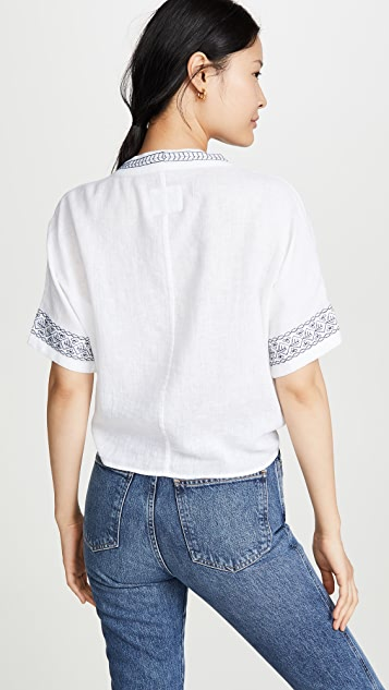 RAILS Thea Embroidered Shirt