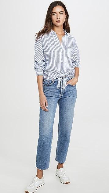 RAILS Рубашка на пуговицах Rylan из льна