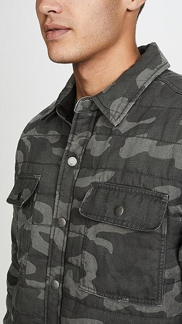 RAILS Andover Camo Shirt Jacket