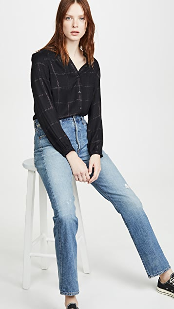 RAILS Eloise 系扣衬衫