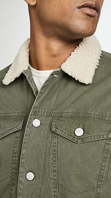 RAILS McKinley Sherpa Collar Jacket