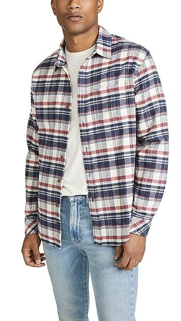 RAILS Heck Button Down Forrest Shirt