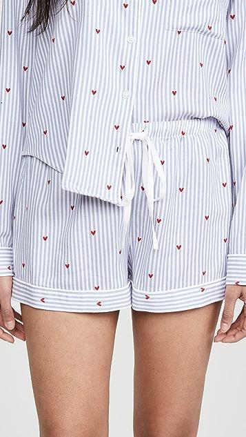 RAILS Kellen 长袖短睡衣套装