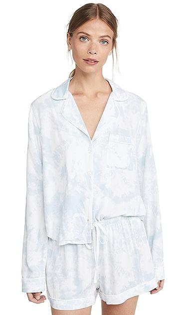 RAILS Kellen 长袖短裤睡衣套装