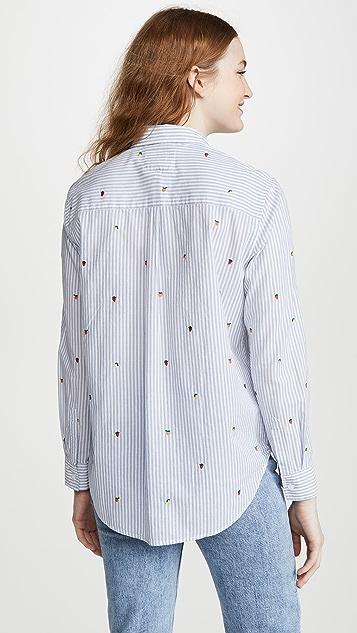 RAILS Taylor 系扣衬衣