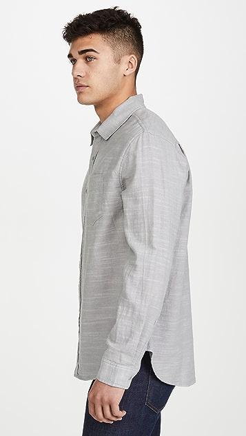RAILS Long Sleeve Wyatt Solid Shirt