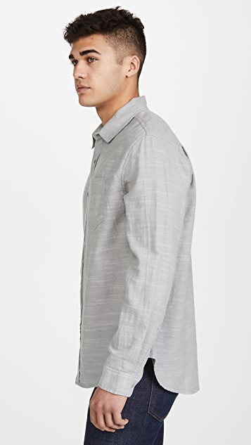 RAILS Long Sleeve Wyatt Solid Shirt