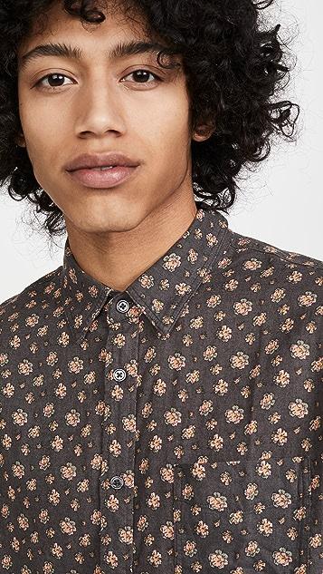 RAILS Short Sleeve Carson Print Shirt